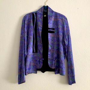 Jila   Vintage Lavender Oriental Jacket